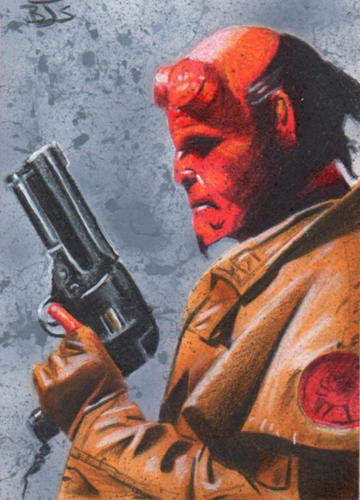 Hellboy by shelbysnake