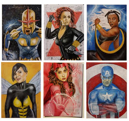 Guardians of the Galaxy Vol.2 sketch cards2 by shelbysnake