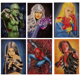 Guardians of the Galaxy Vol.2 sketch cards3 by shelbysnake