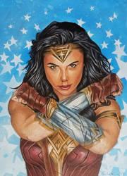 Wonder Woman by shelbysnake