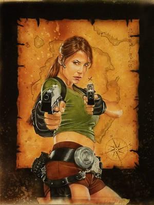 Lara Croft - Tomb Raider by shelbysnake