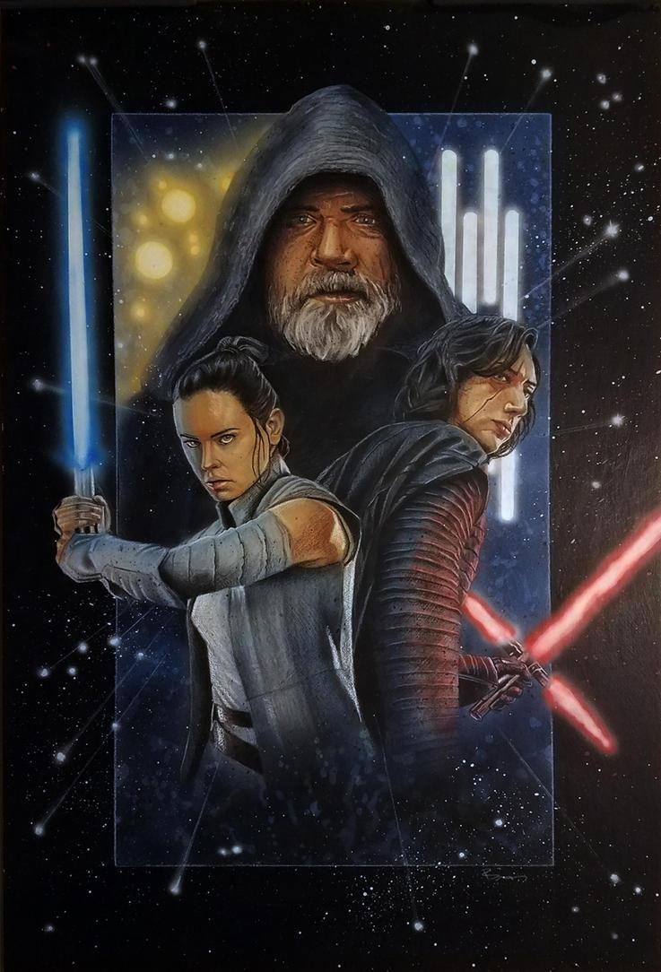 Star Wars - The Last Jedi by shelbysnake