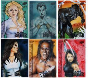 Black Panther 7-12 by shelbysnake