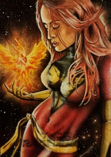 Dark Phoenix by shelbysnake