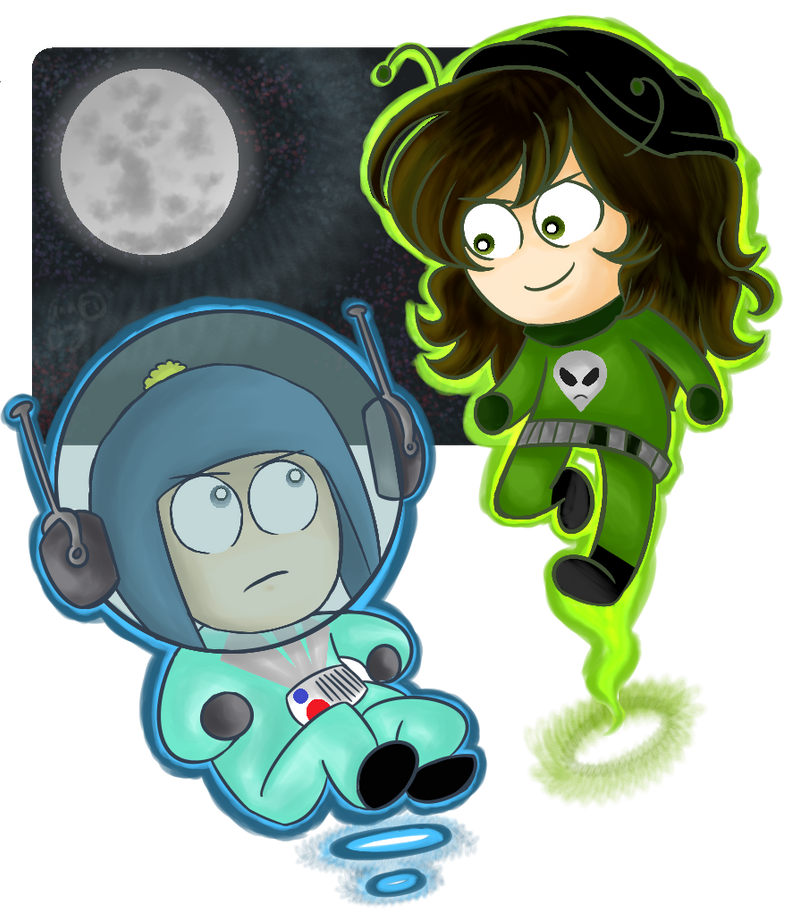 Space Man by Ana-beth