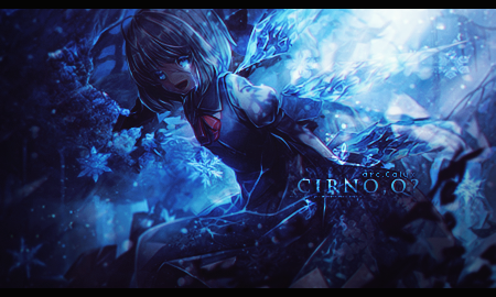 Cirno,Q? by Yuda23