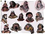 Warrior faces