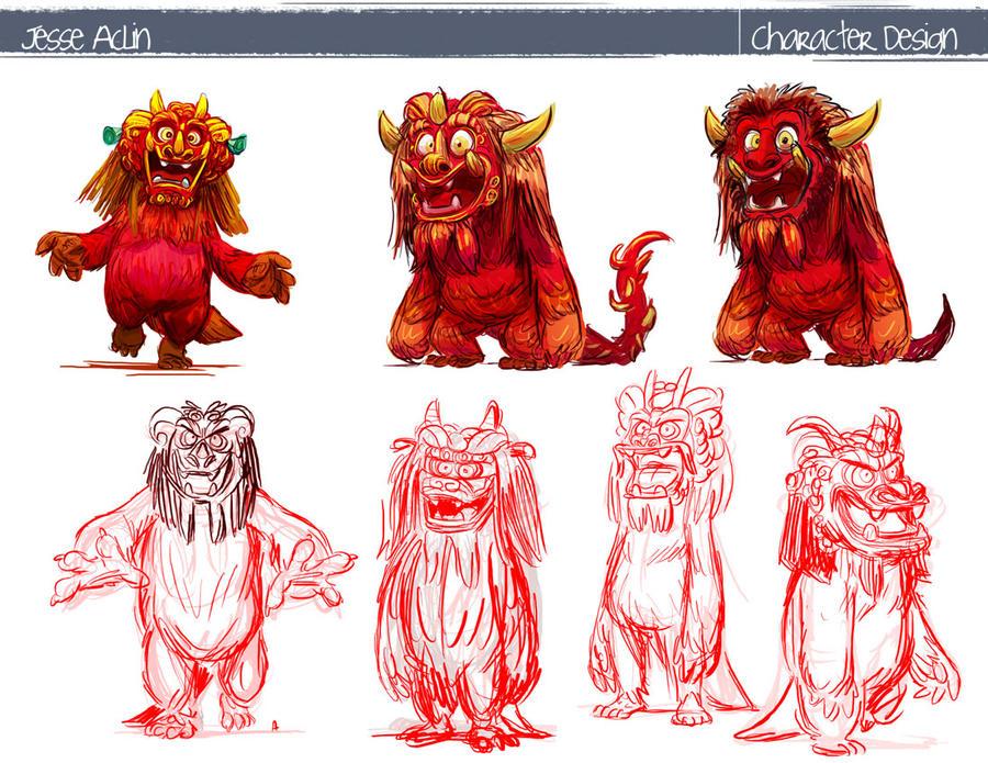 Character Design Sketchbook : Character designs by jesseaclin on deviantart