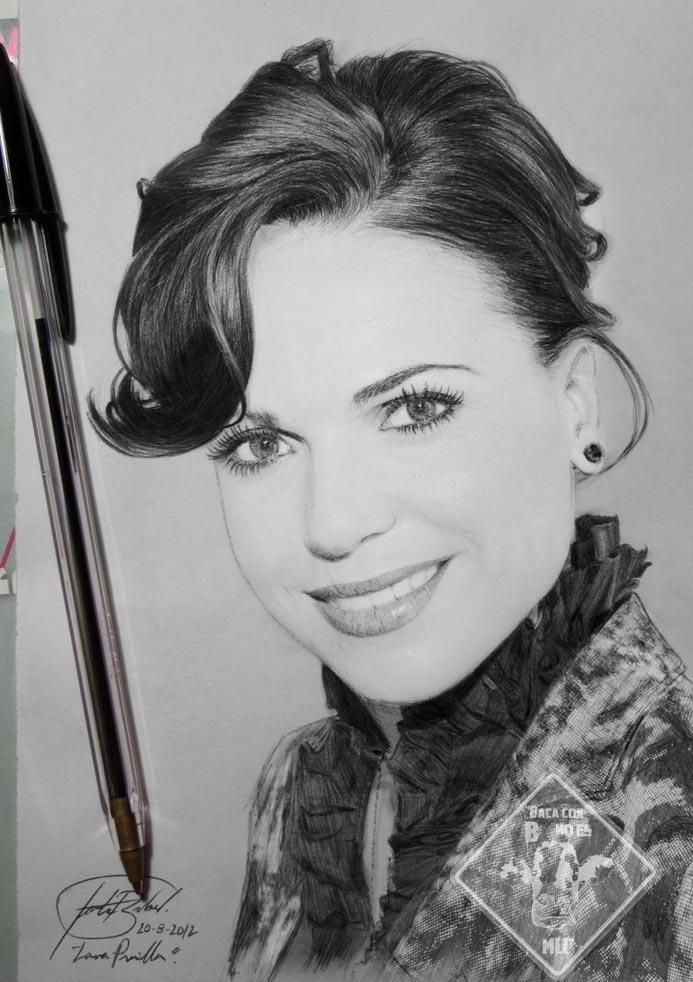 Lana Parrilla drawing