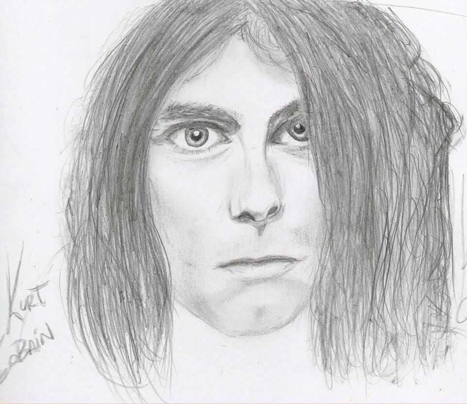Kurt cobains drawings kurt cobain drawing i by
