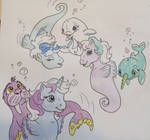 *NEW*  Arctic Seaponies w/ Friends! by foxspotted