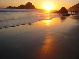 Big Sur SunSet by pereplekino