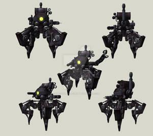 Four Legged Steam Automaton
