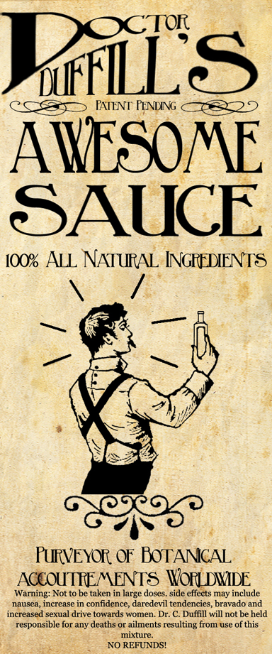 Awesome Sauce Ad by Machina-Obscura