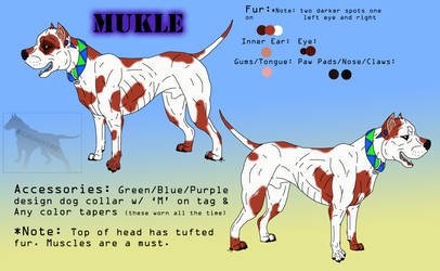 Mukle Reff Sheet