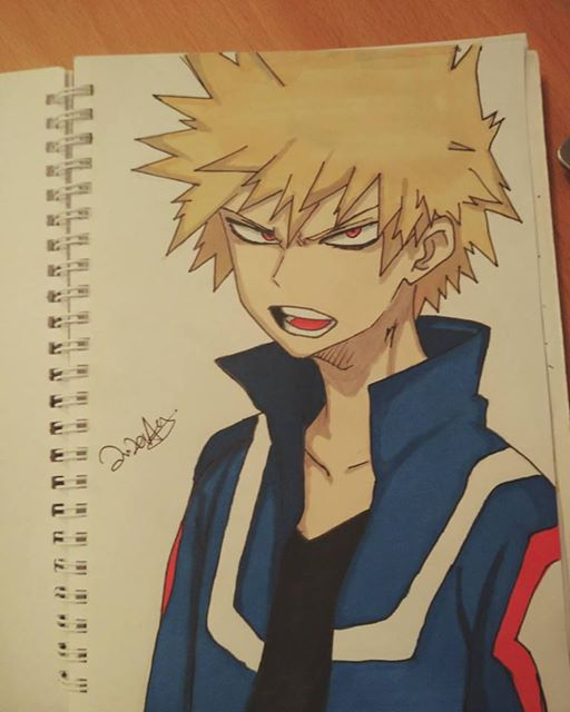 Bakugou by d0ubl2