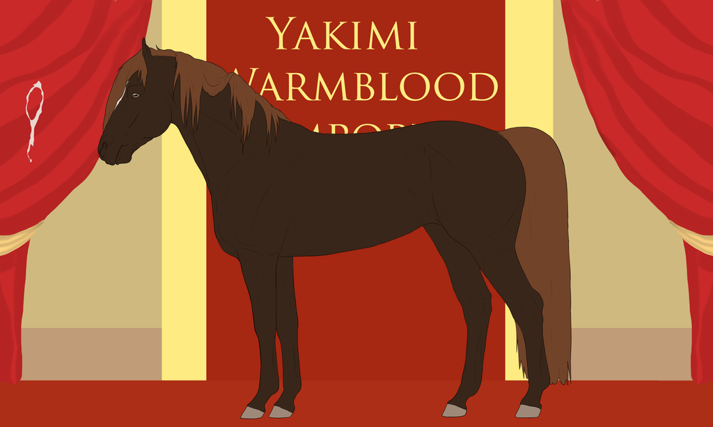 Yakimi Warmblood Import #6 by Weidenhof