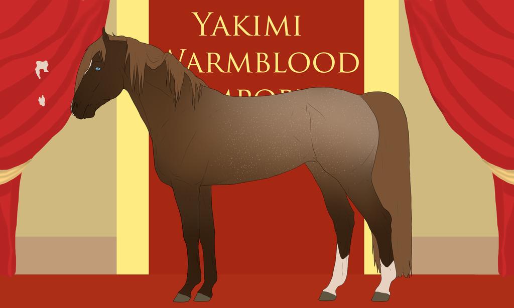 Yakimi Warmblood Import #9 by Weidenhof