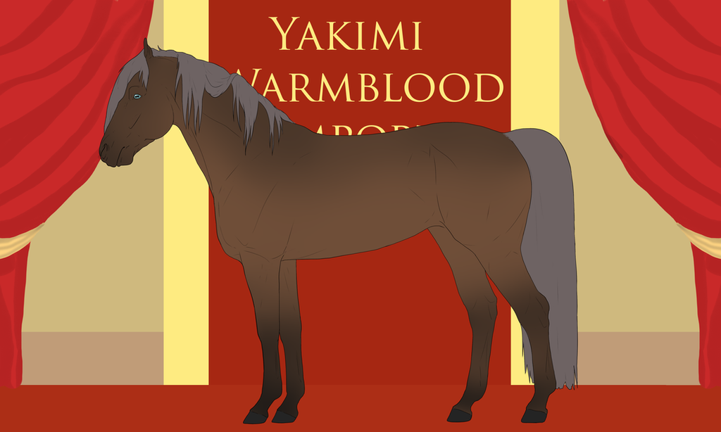 Yakimi Warmblood Import #21 by Weidenhof