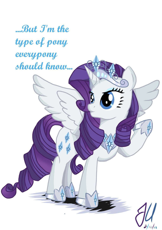 Annoyed Princess Rarity by teammagix