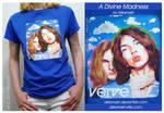 Verve T-shirt 'A Divine Madness'