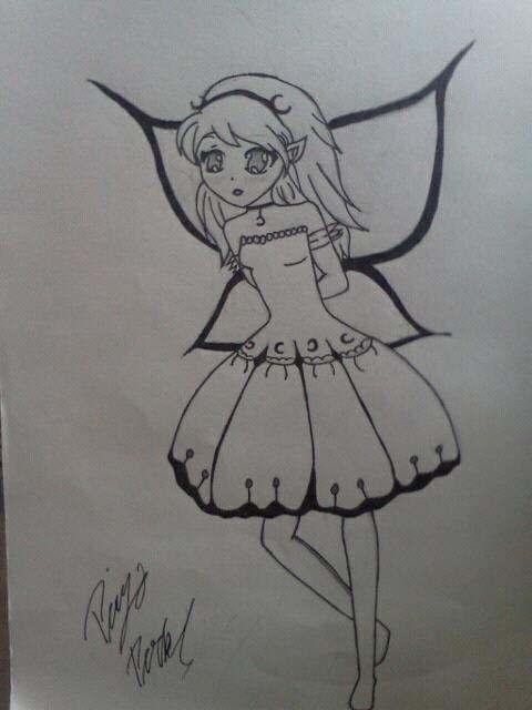 random cute fairy by moongodesslover on deviantart