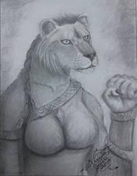 Aslan hembra by VeronicaRomero