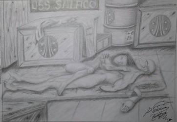 Teniente Rasczak y la marine Lopez by VeronicaRomero
