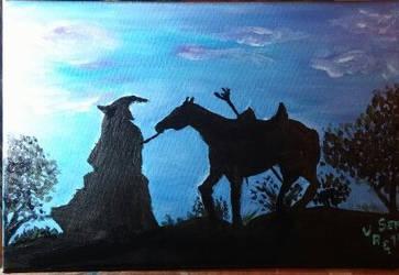 Gandalf by VeronicaRomero