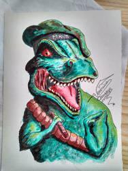MKT T-Rex by VeronicaRomero