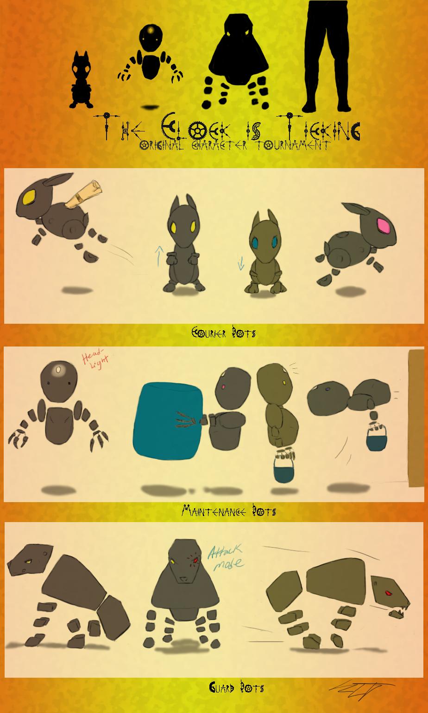 NPC Bots - The Clock is Ticking! by stickfigureparadise