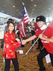 Otakon 2015: China and Soviet Russia by Brassboy212