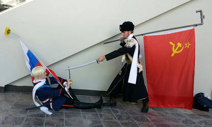 Otakon 2015: Russian Revolution by Brassboy212