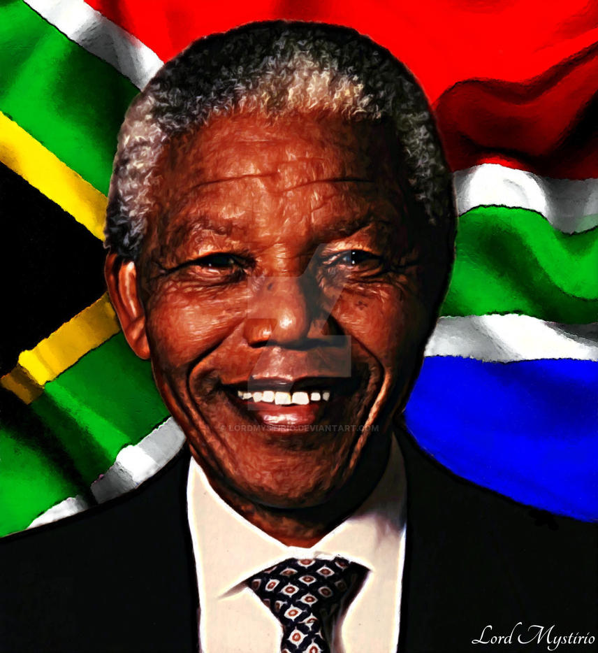 Nelson Rolihlahla Mandela Madiba. by LordMystirio