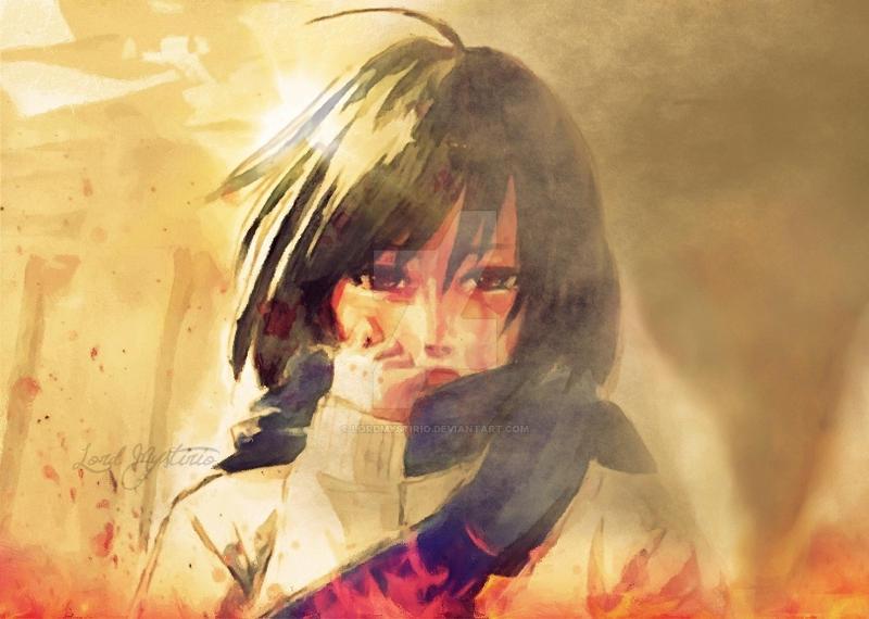 Mikasa Ackerman _ Life, My Precious