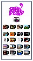 Pink Floyd Discography Icons ICO PNG