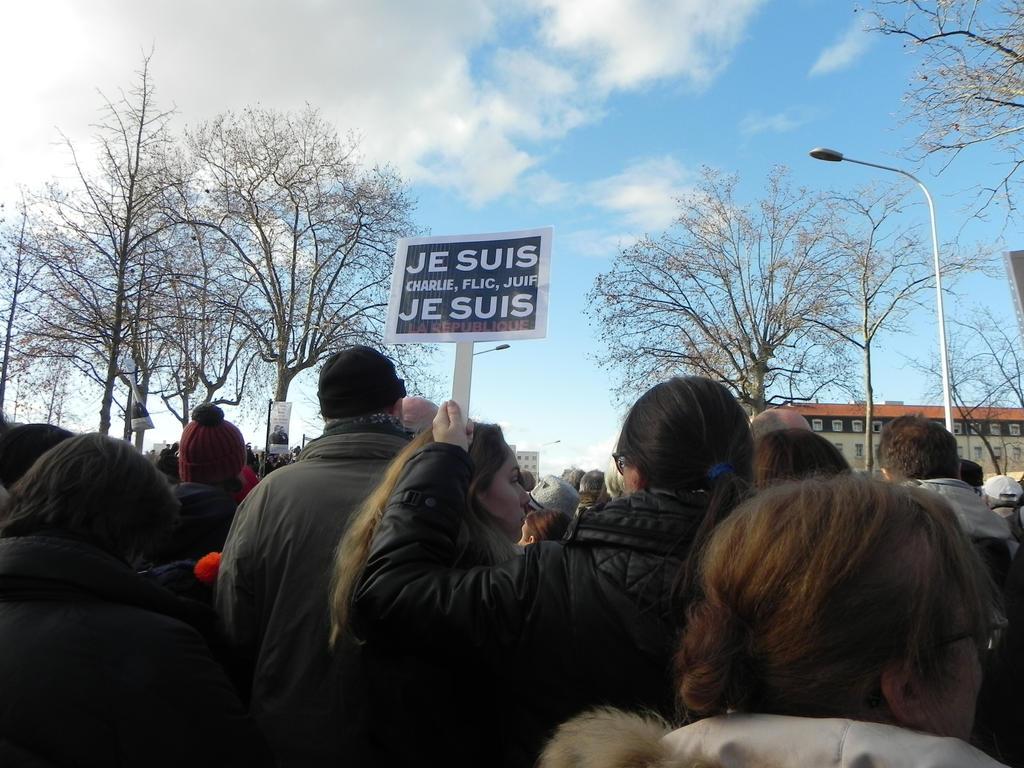 marche du 11 janvier 2015 Lyon by angeloup