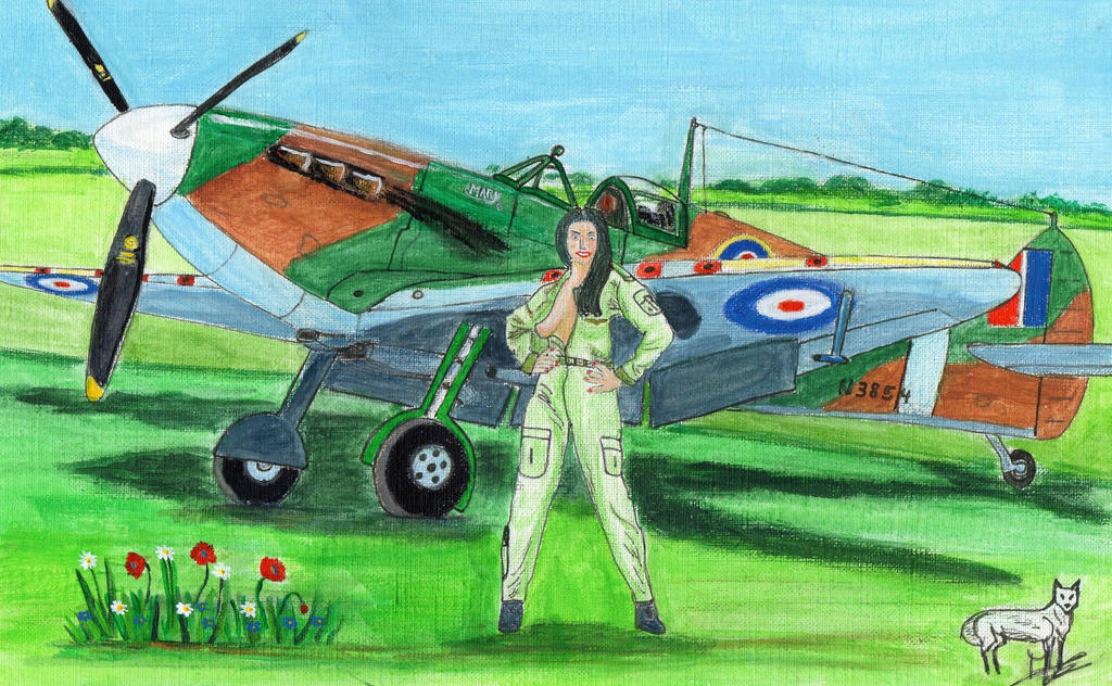 Lady Spitfire 1b by angeloup