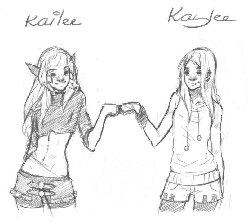 Kailee and Kaylee by JosjeZ