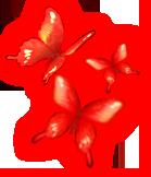 Crimson Butterflies by Lithiel
