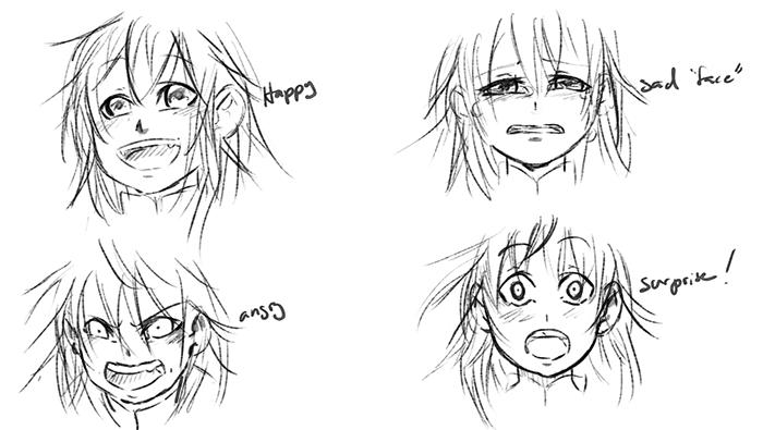 Scuffs Expression Test by Lithiel