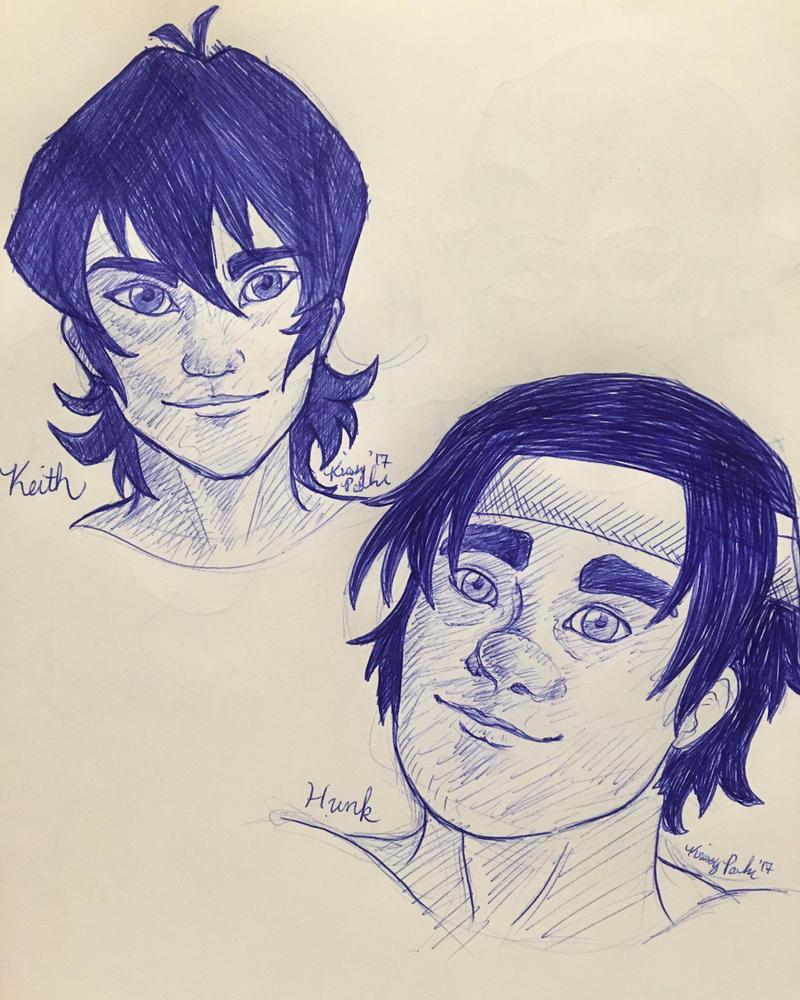 More Voltron Doodles by Kisha-Rose