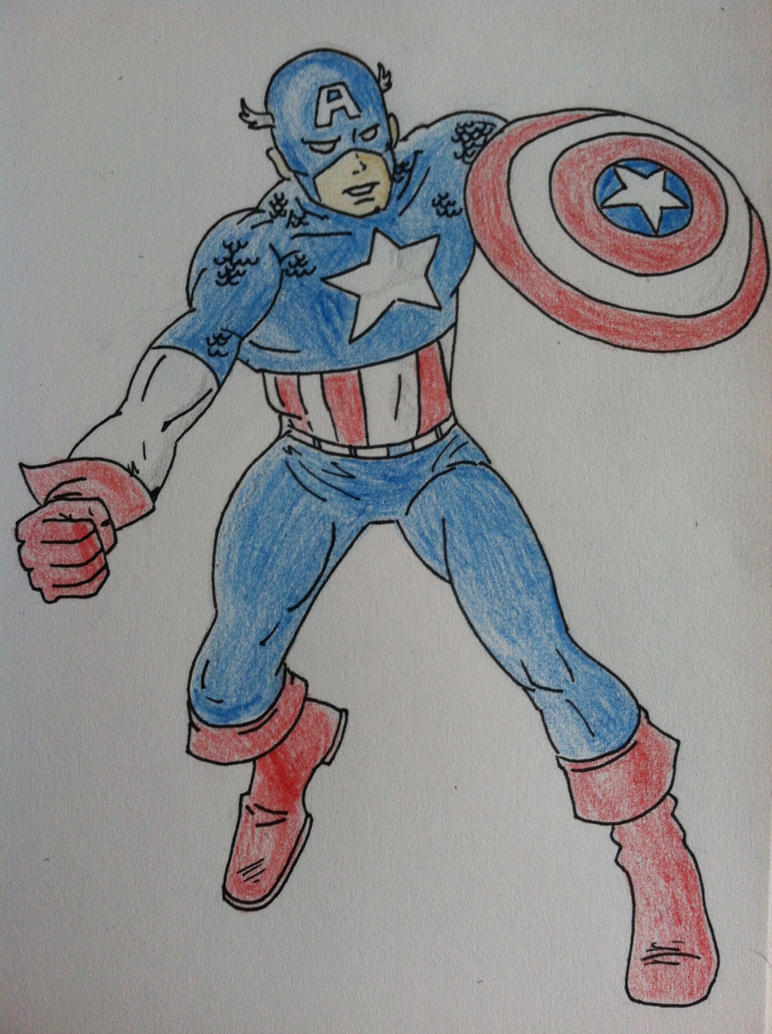 Star Spangled Man by 416bunny