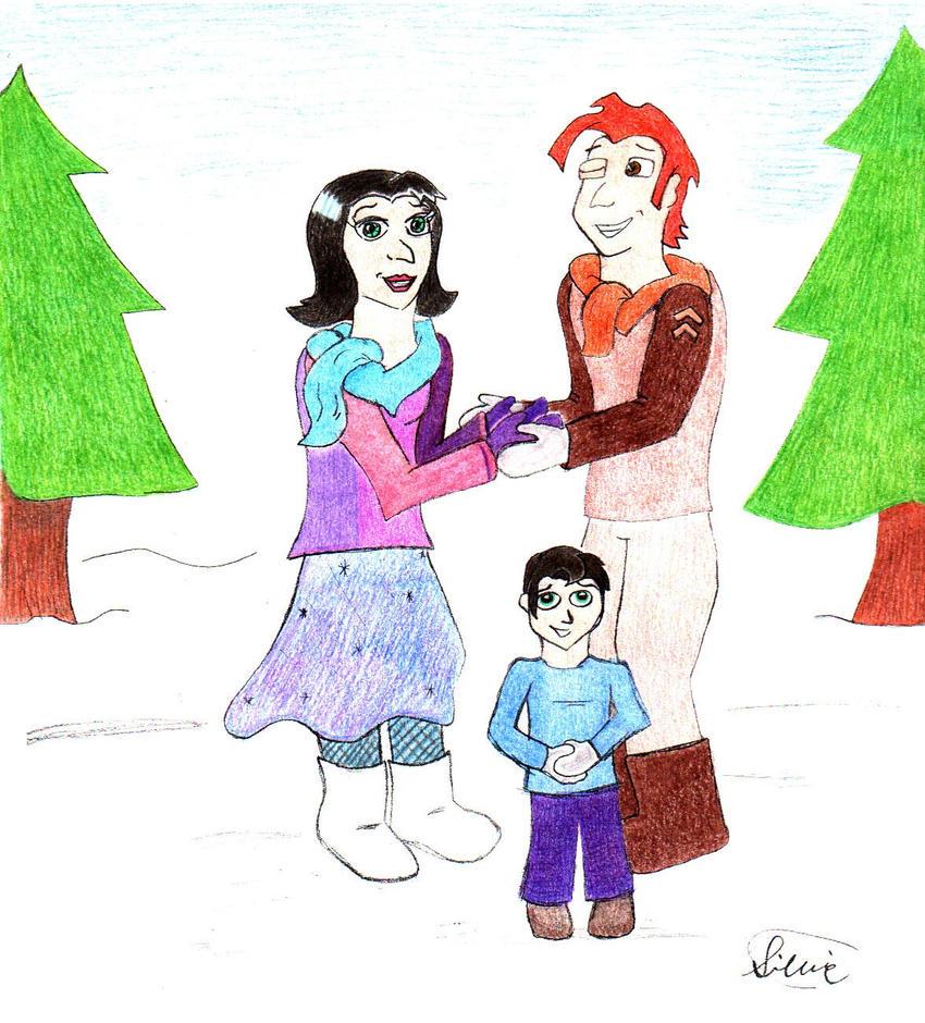 Orestes' Family by VioletLavender