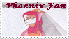 Phoenix Fan stamp by VioletLavender