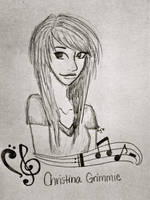 Christina Grimmie by bubbles7011