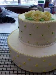 Flower Cake by Ialaluce