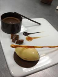 Caramel Plate by Ialaluce