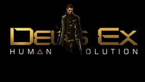 Adam Jensen-Deus Ex wallpaper