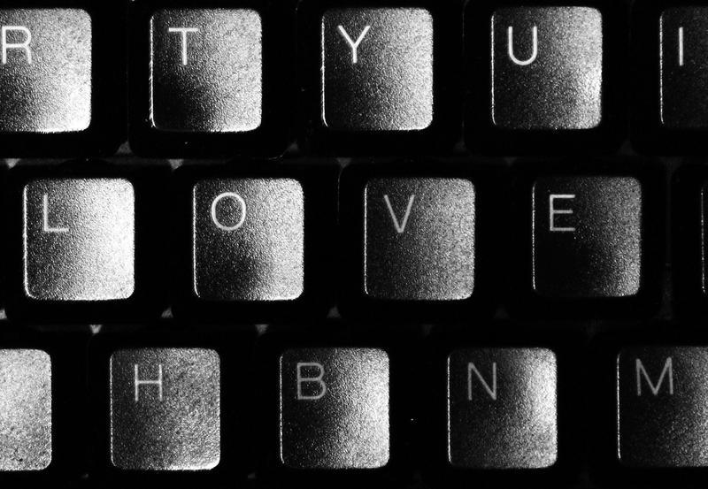 Keyboard - LOVE by AwetumJoygasm